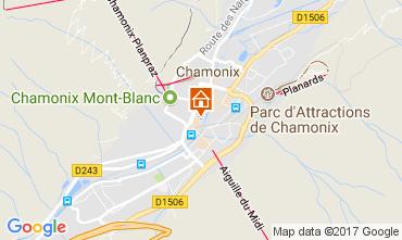 Karte Chamonix Mont-Blanc Appartement 112088
