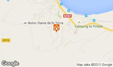 Karte Calvi Villa 28209