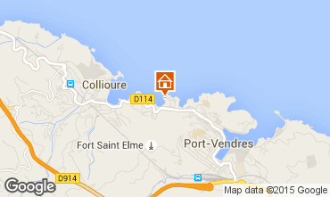Karte Collioure Appartement 93240