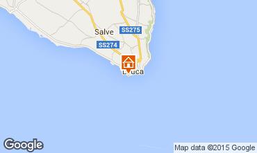 Karte Santa Maria di Leuca Appartement 95923