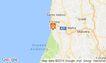 Karte Ericeira Appartement 106243