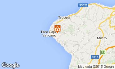 Karte Tropea Appartement 47826