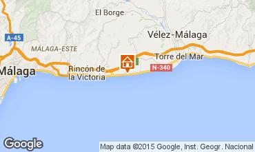 Karte Málaga Appartement 82679