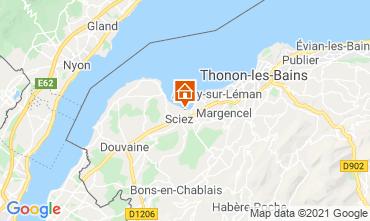 Karte Thonon Les Bains Chalet 14972