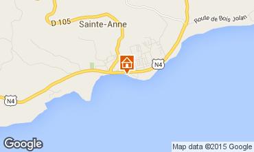 Karte Sainte Anne (Guadeloupe) Appartement 73786