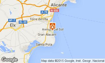 Karte Alicante Appartement 75868