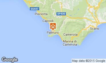 Karte Palinuro Appartement 42608