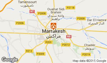 Karte Marrakesch Haus 50438