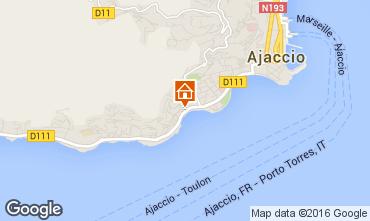 Karte Ajaccio Appartement 79522