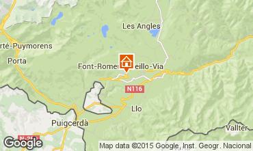 Karte Font Romeu Appartement 80067