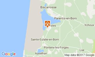 Karte Biscarrosse Mobil-Home 108709