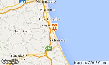 Karte Giulianova Appartement 23634