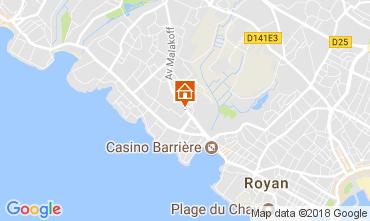 Karte Royan Haus 104851