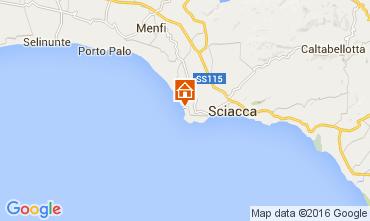 Karte Sciacca Appartement 69342