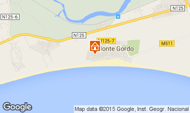 Karte Monte Gordo Appartement 83181