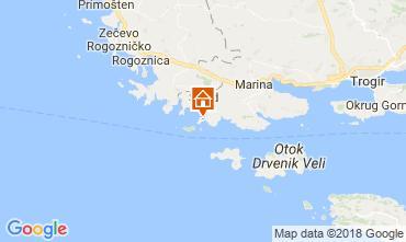 Karte Trogir Haus 114372