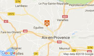 Karte Aix en Provence Appartement 115648