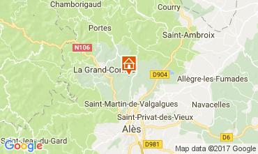 Karte Alès Villa 112619