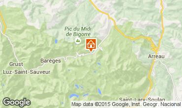 Karte La Mongie Studio 4288