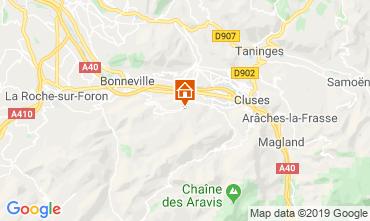 Karte La Clusaz Chalet 92047