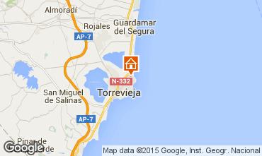 Karte Torrevieja Appartement 101525