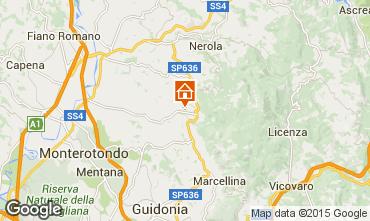 Karte Rom Villa 93748