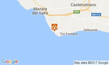 Karte Mazara del Vallo Appartement 105139