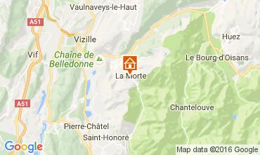 Karte Alpe du Grand Serre Studio 112