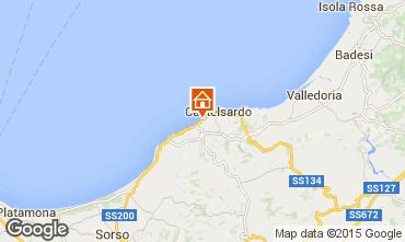 Karte Castelsardo Appartement 81461