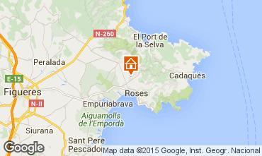 Karte Rosas Villa 83020