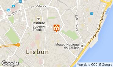 Karte Lissabon Appartement 56054