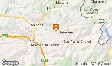 Karte Morillon Grand Massif Studio 24998