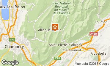 Karte Les Aillons Studio 64343