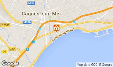 Karte Cagnes sur Mer Studio 88013