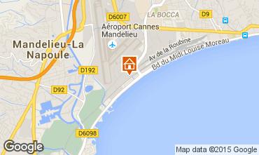 Karte Cannes Appartement 102260