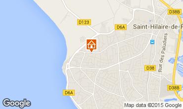 Karte Saint Hilaire de Riez Haus 51364