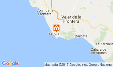 Karte Barbate Villa 104021