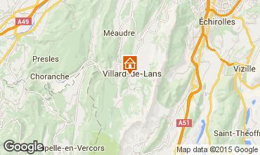 Karte Villard de Lans - Corrençon en Vercors Appartement 57741