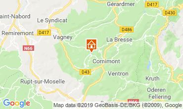 Karte La Bresse Fremdenzimmer 118267