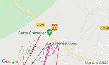 Karte Serre Chevalier Chalet 41653