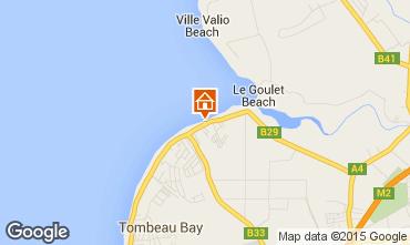 Karte Baie du tombeau Villa 80681