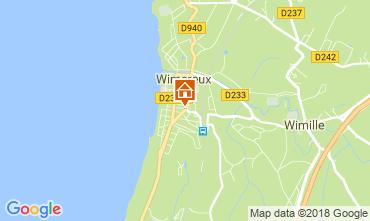 Karte Wimereux Appartement 113891