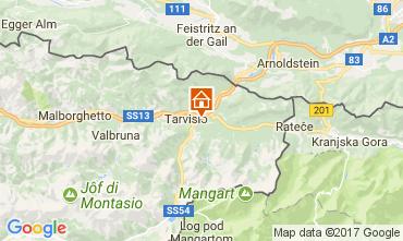 Karte Tarvisio Chalet 111297
