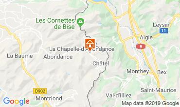 Karte Châtel Chalet 16141