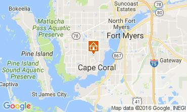 Karte Cape Coral Villa 106569