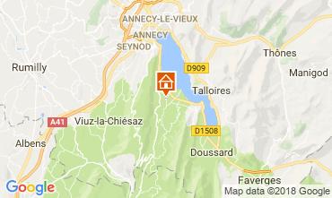 Karte Annecy Appartement 114387