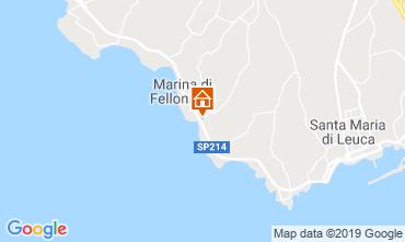 Karte Santa Maria di Leuca Villa 64390