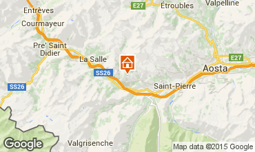 Karte Saint Nicolas Ferienunterkunft auf dem Land 91491