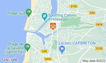 Karte Hossegor Appartement 115520