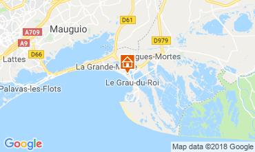 Karte Le Grau du Roi Appartement 111460
